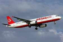 Самолет Airbus A321 авиакомпании Atlasjet