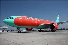 Самолет Airbus A330–200 авиакомпании Windrose